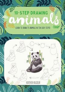 10 Step Drawing Animals