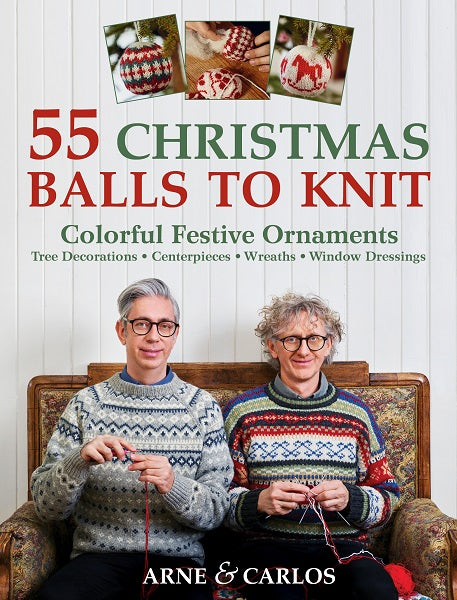 55 Christmas Balls to Knit  (PB)