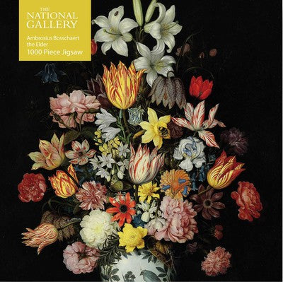 Adult Jigsaw Puzzle National Gallery Bosschaert the Elder: A Still Life of Flowers