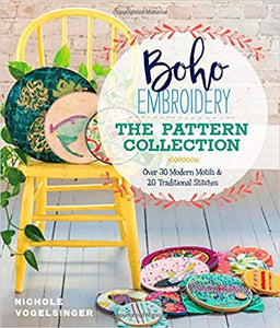 Boho Embroidery The Pattern Collection