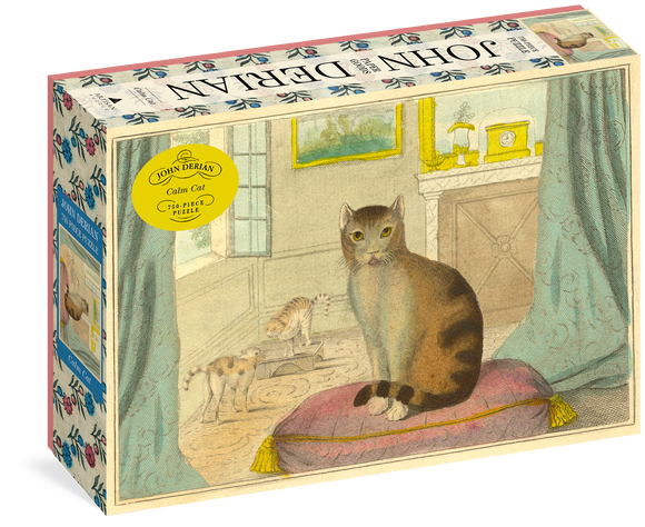 John Derian Paper Goods: Calm Cat 750-Piece Puzzle