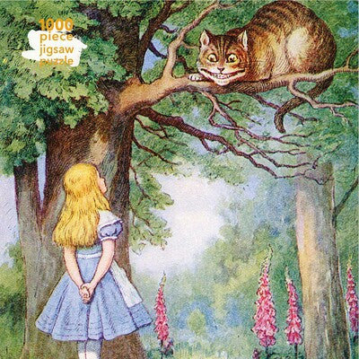 Adult Jigsaw Puzzle Alice and the Cheshire Cat *Releases 6/15/2021