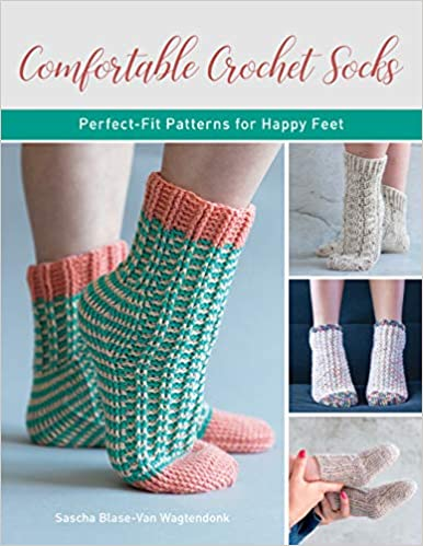 Comfortable Crochet Socks   **Releases 8/1/2021