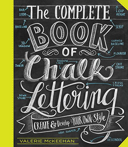 The Complete Book of Chalk Lettering (S)