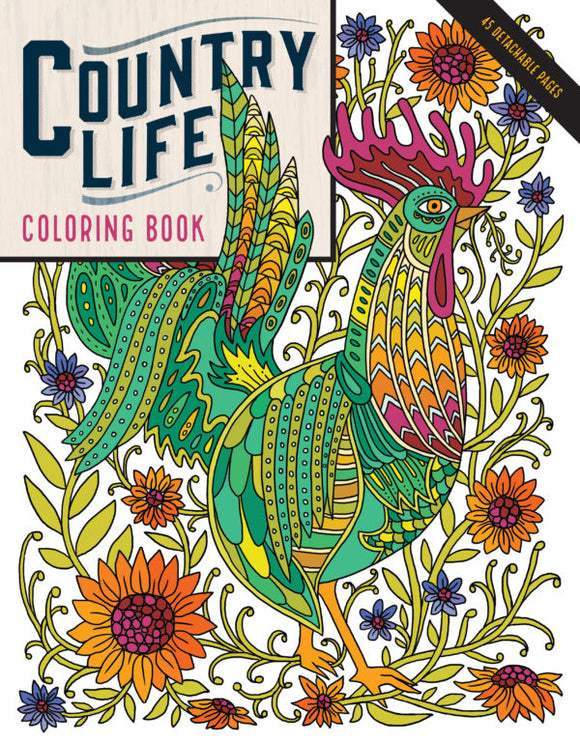 Country Life Coloring book (S)