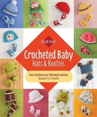 Crocheted Baby Hats and Booties