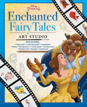 Disney Princess Enchanted Fairy Tales Art Studio (Kit)