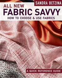 All New Fabric Savvy (T)