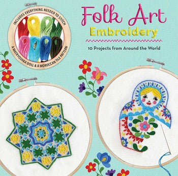 Folk Art Embroidery (Kit)