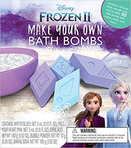 Frozen 2 Make Your Own Bath Bombs (KIT)