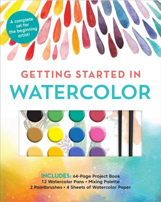 Getting Started in Watercolor (Kit)