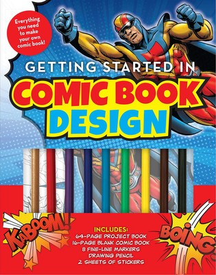Getting Started in Comic Book Design (Kit)