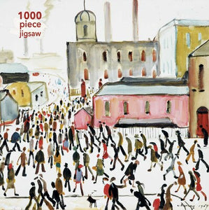 Adult Jigsaw Puzzle L.S. Lowry: Going to Work
