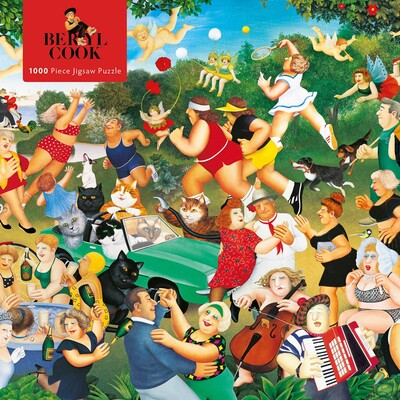 Adult Jigsaw Puzzle Beryl Cook: Good Times