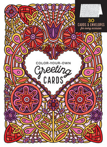 Color Your Own Greeting Cards (S)