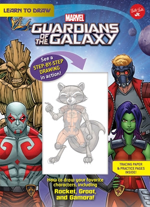 Learn to Draw Marvel Guardians of the Galaxy