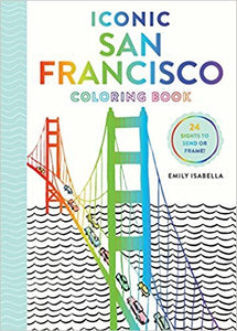 Iconic San Francisco Coloring Book (S)