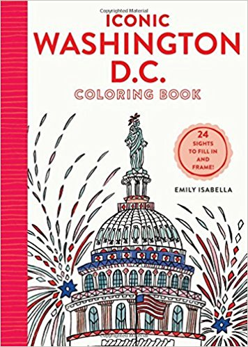 Iconic Washington DC Coloring book (S)