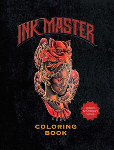 Ink Master Coloring Book (Kit)