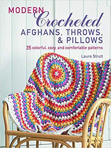 Modern Crocheted Afghans, Throws & Pillows