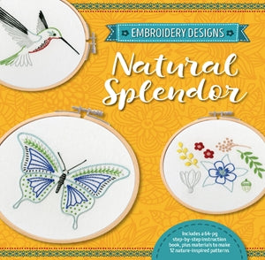Embroidery Designs: Natural Splendor (Kit)