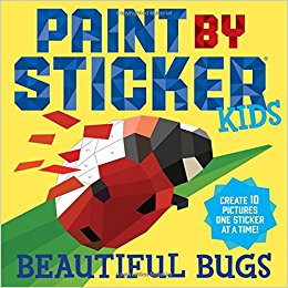 Paint and Sticker for Kids Beautiful Bugs (S)