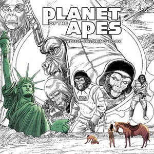 Planet of the Apes Adult Coloring Book