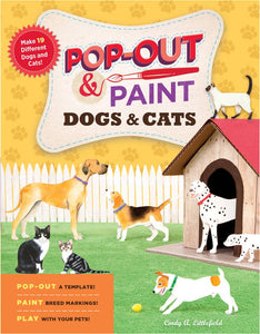 Pop-Out and Paint Cats & Dogs (S)
