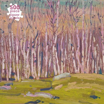 Adult Jigsaw Puzzle Tom Thomson: Silver Birches (500 pieces) *Releases 7/13/21