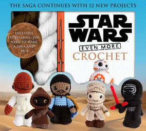 Star War More Crochet (Kit)  **Out on Reprint
