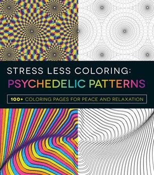 Stress Less Coloring - Psychedelic Patterns