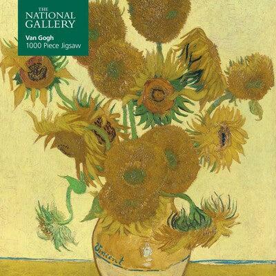 Adult Jigsaw Puzzle National Gallery: Vincent Van Gogh, Sunflowers