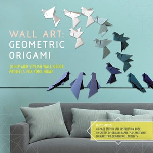 Wall Art Geometric Origami (kit)