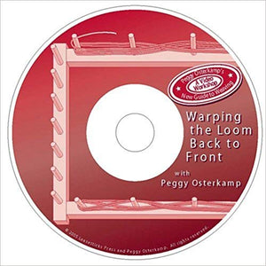 Warping the Loom form Back to Front (DVD)