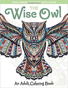 Wise Owl Coloring Book