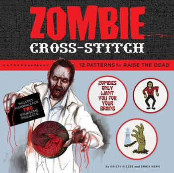 Zombie Cross Stitch (Kit)