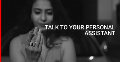 smart ring help talk to your personal assistant