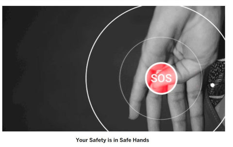 sos safety smart ring mobile call