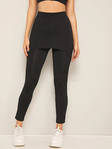 2 In 1 Skinny Leggings