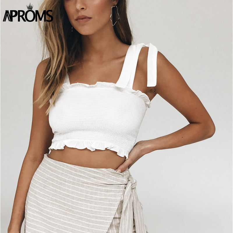 Elastic Crop Top