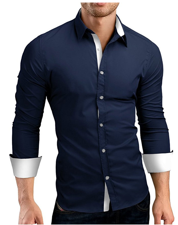 2018 High Quality Men's Long Sleeve Shirts