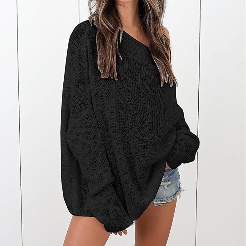 Loose Knitted Sweater - GaGodeal
