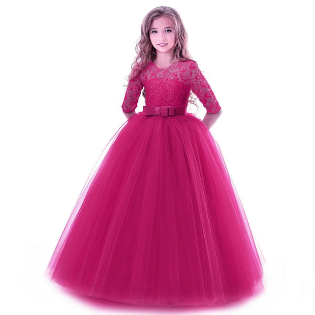 Hot Selling Elegant Girls Party Princess Dress
