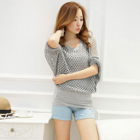 Summer New Women Thin Pullovers Sweaters Casual