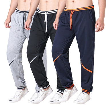 Summer Fashion New Men's Pants Drawstring Elastic Waist