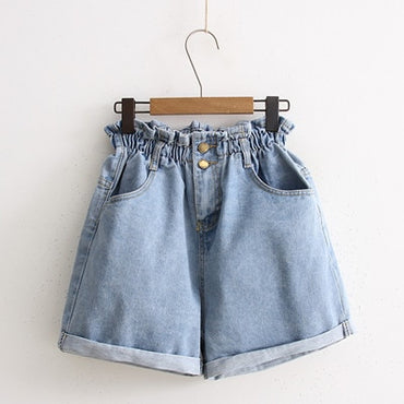 G1020 women's summer denim shorts cheap wholesale