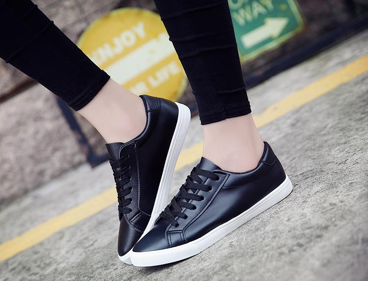 White shoes woman solid color female shoes casual women shoes sneakers