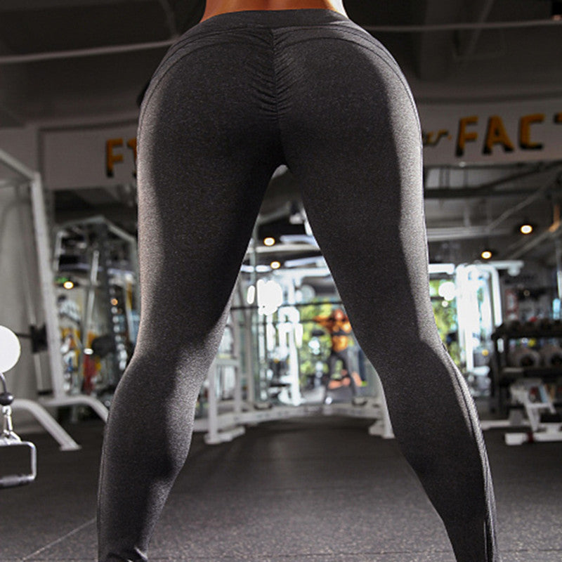 Sexy Push Up Women Leggings Workout High Waist Breathable Patchwork Leggings