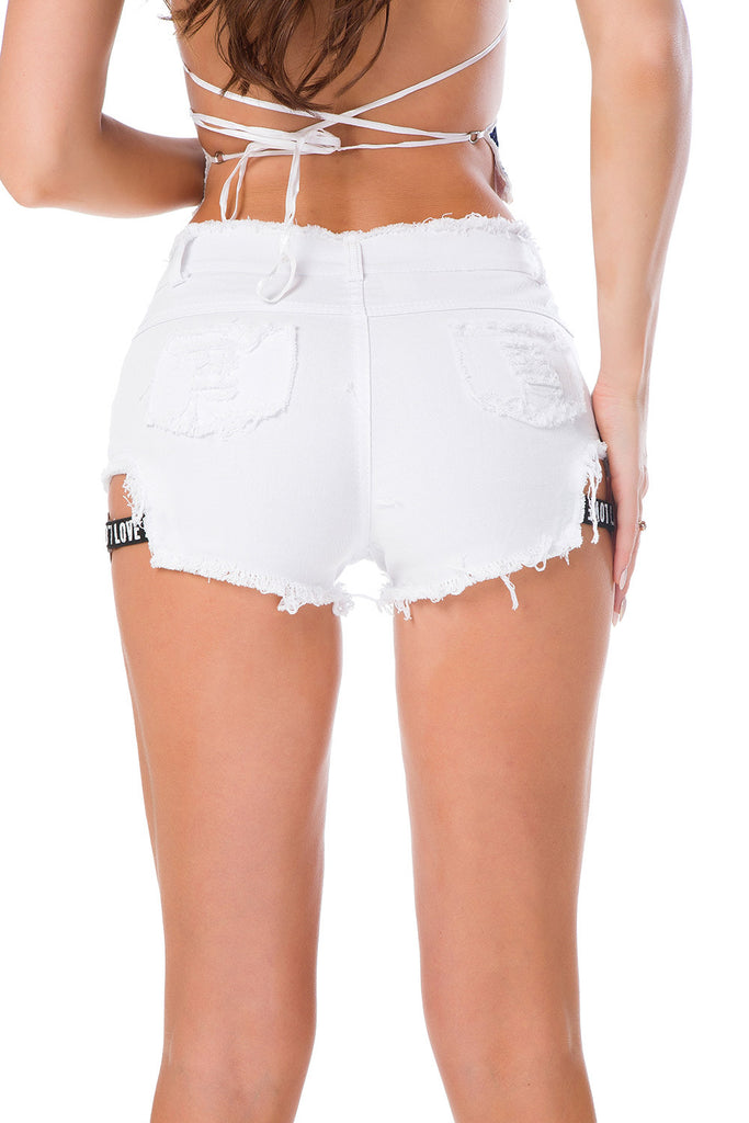 High waist shorts Sexy Women's jeans denim shorts