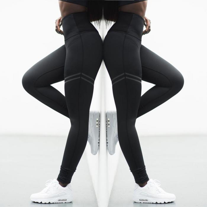 Women Leggings Pant High Waist Elasticity